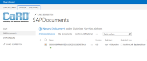 Sharepoint Archive Link