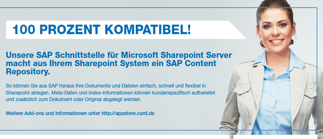 SAP Sharepoint ArchiveLink